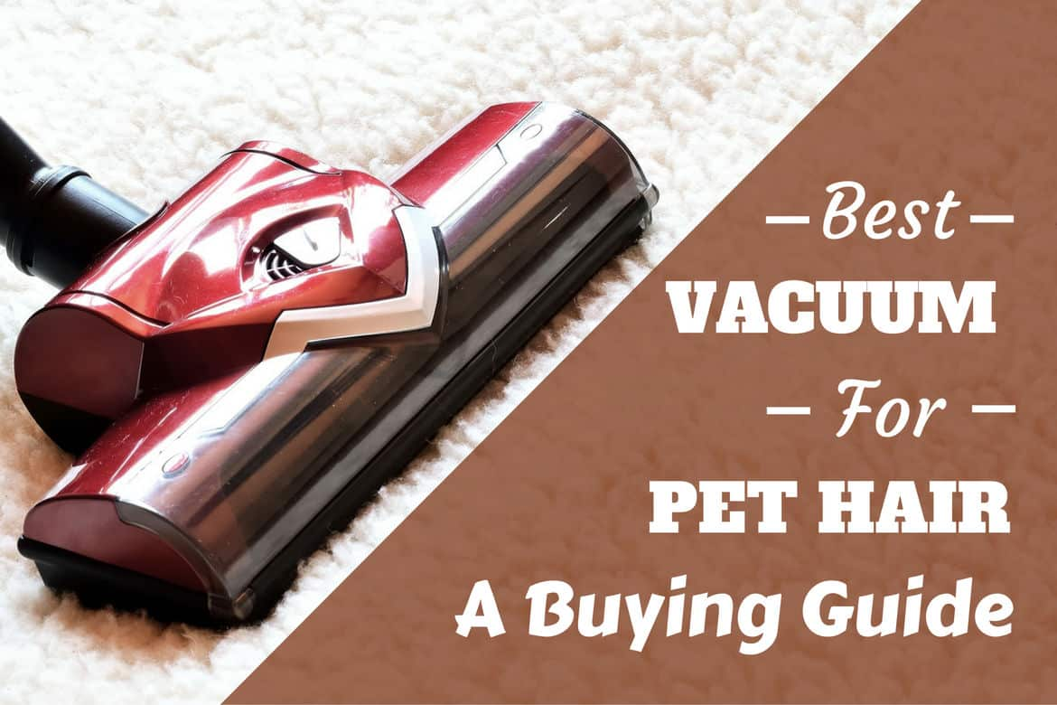 Best Vacuum for Pet Hair 2017: Buying Guide and Reviews