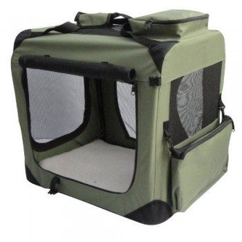 elitefield sage crate soft sided crate on white bg