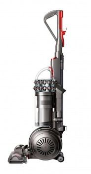 Side view of Dyson Cinetic Big Ball Animal vacuum standing upright
