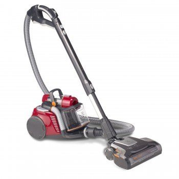 Angled view of Electrolux Ultraflex canister vacuum