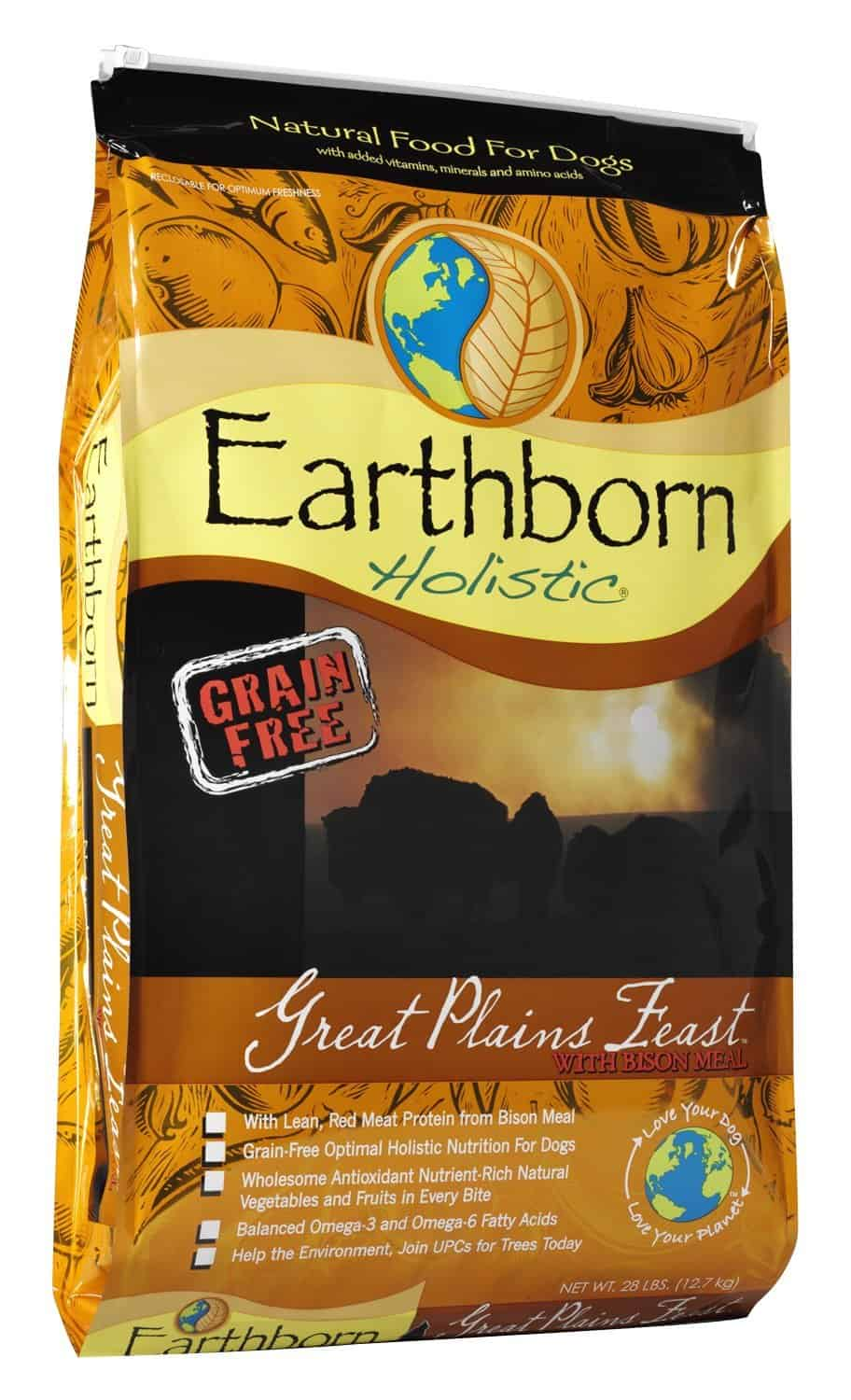 Earthborn Holistic Great Plains Feast Grain Free Dry Dog Food - Top 5 Best Dog Food For English Bulldogs You Never Knew