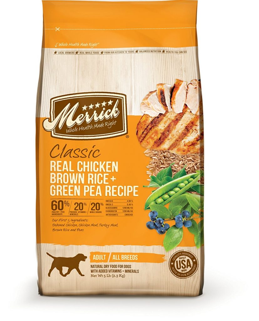 Is merrick a good dog food see our honest merrick dog food review here merrick classic real chicken brown rice and green pea recipe forumfinder Image collections