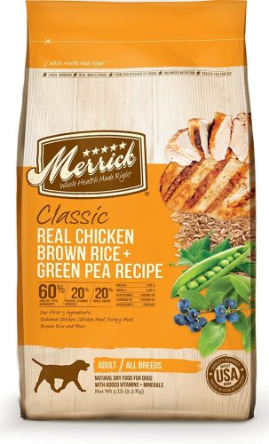 merrick small breed dog food