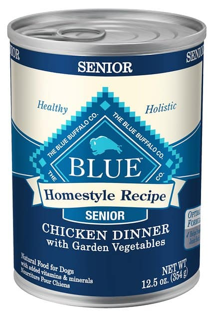 blue buffalo homestyle recipe senior image