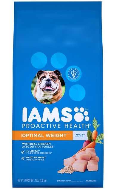 iams proactive health adult optimal weight image