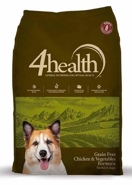 4health Grain-Free Chicken & Vegetables Formula Adult Dog Food