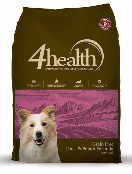 4health Grain Free Duck & Potato Formula Dog Food
