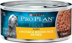 Purina Pro Plan Focus Puppy Classic Chicken & Brown Rice Entree Canned Dog Food
