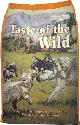 Taste of the Wild High Prairie Puppy Formula Grain-Free Dry Dog Food