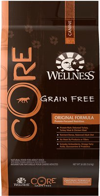 Wellness CORE Grain-Free Original Turkey & Chicken Recipe Dry Dog Food