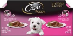 Cesar Puppy Pate Multipack Dog Food Trays