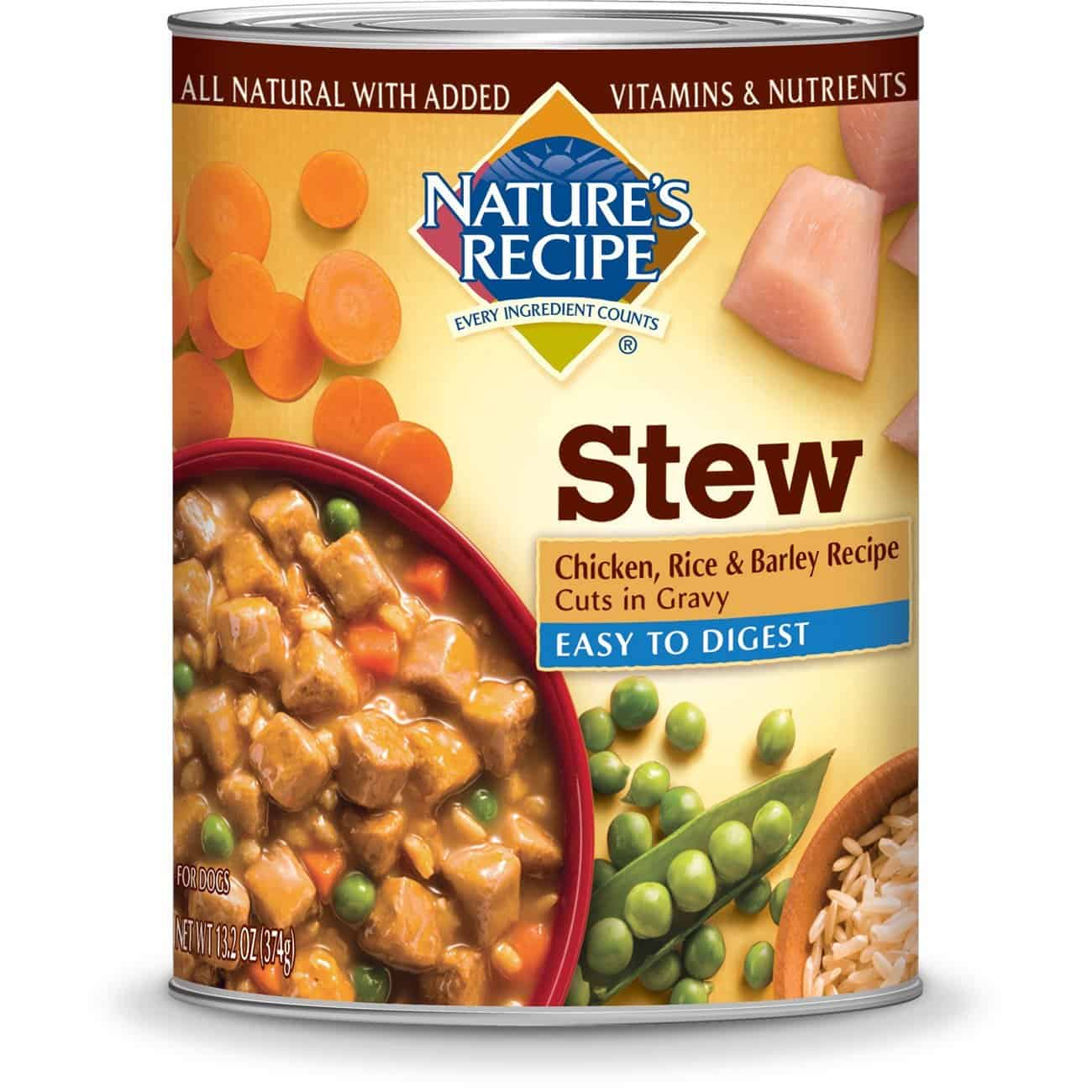 Natures recipe dog food review quality ingredients you can trust natures recipe wet dog food cuts in gravy forumfinder Choice Image