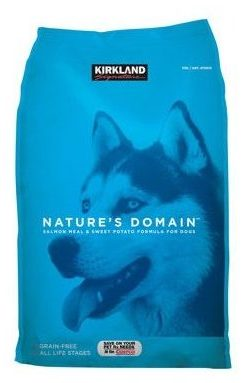 Nature's Domain Grain-Free All Life Stages Salmon Meal & Sweet Potato Formula for Dogs