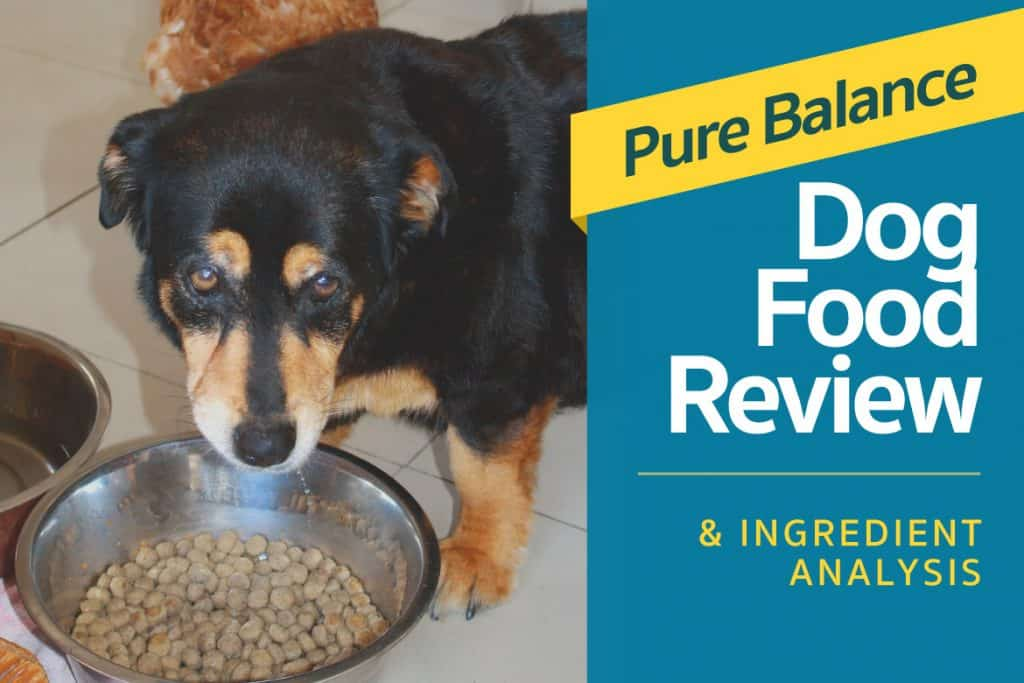 Pure Balance Dog Food Review Amp Ingredient Analysis