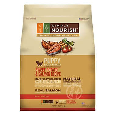 Simply Nourish Limited Ingredient Diet Puppy Food – Natural, Sweet Potato & Salmon