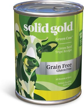 Solid Gold Green Cow Tripe in Beef Broth Grain-Free Canned Dog Food
