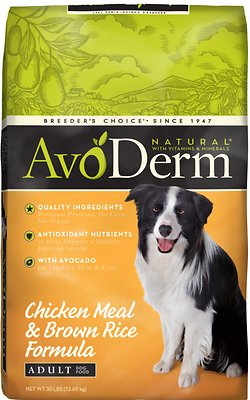AvoDerm Natural Chicken Meal Dry Dog Food