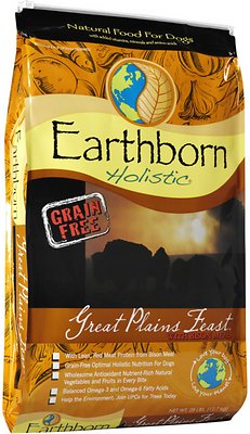 Earthborn Holistic Great Plains Feast Natural Dry Dog Food