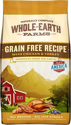 Whole Earth Farms Grain-Free Recipe with Chicken and Turkey