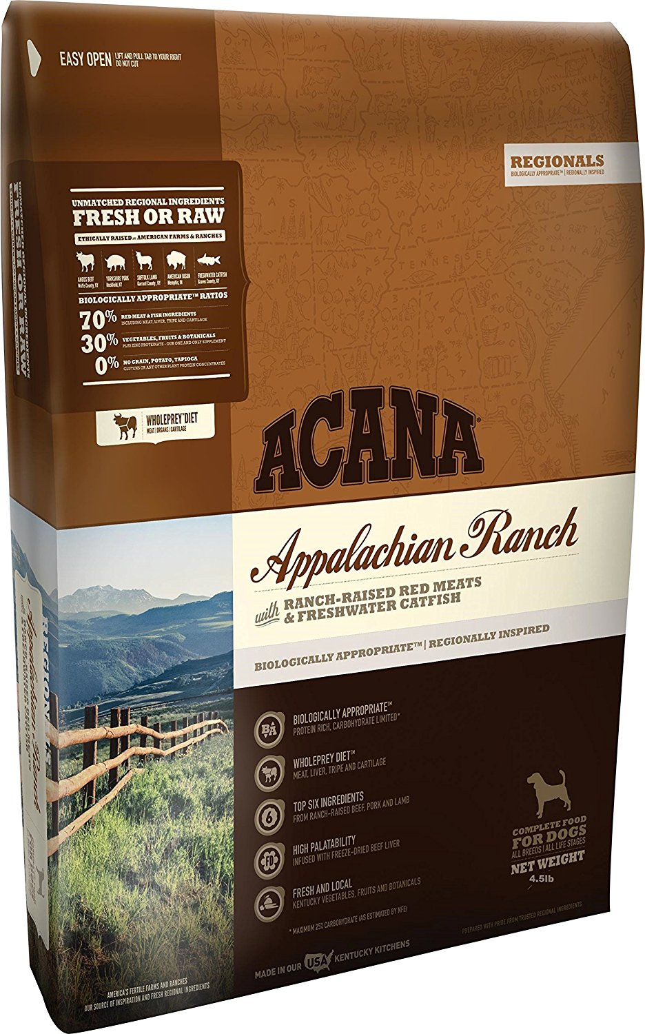 Acana Regionals Appalachian Ranch - The Ultimate Healthy Dog Life: Acana Dog Food Reviews