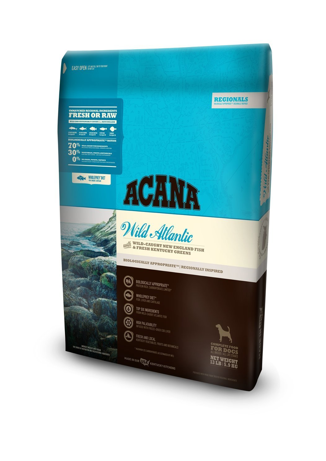 Acana Regionals Wild Atlantic for Dogs - The Ultimate Healthy Dog Life: Acana Dog Food Reviews