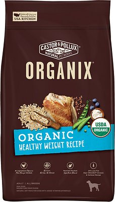 Castor & Pollux Organix Organic Healthy Weight Recipe Dry Dog Food