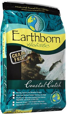 Earthborn Holistic Coastal Catch Grain Free Natural Dry Dog Food - The Best Dog Food For Great Danes. What Should You Really Be Feeding?
