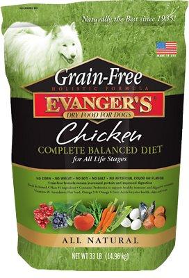 Evanger's Grain-Free Chicken with Sweet Potato & Pumpkin Dry Dog Food