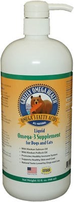 Grizzly Omega Health Omega-3 Dog & Cat Supplement