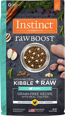 Instinct by Natures Variety Raw Boost Large Breed Puppy Grain Free Recipe with Real Chicken Dry Dog Food - The Best Dog Food For Great Danes. What Should You Really Be Feeding?