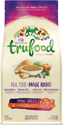 Wellness TruFood Small Breed Chicken & Chicken Liver