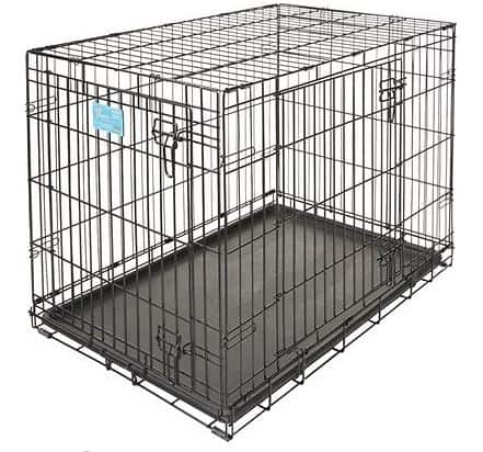 MidWest LifeStages Double Door Dog Crate - Complete Guide On What Size Dog Crate You Should Get And Which Type Is Best?