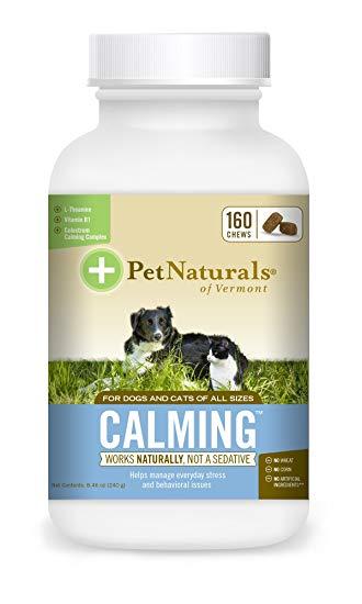 Pet Naturals of Vermont Calming Dog & Cat Chews