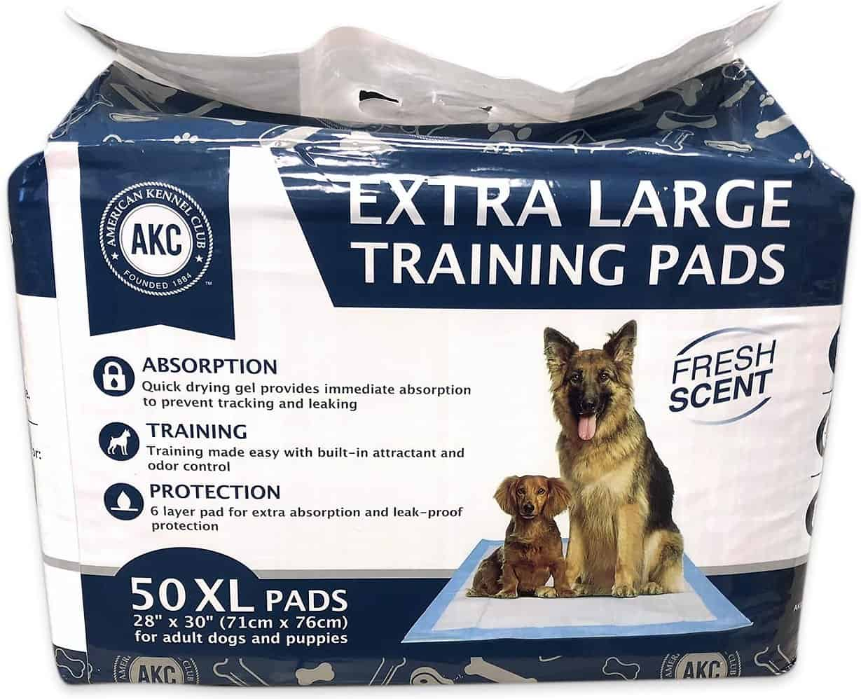 American Kennel Club Fresh Scented Extra Large Training Pads