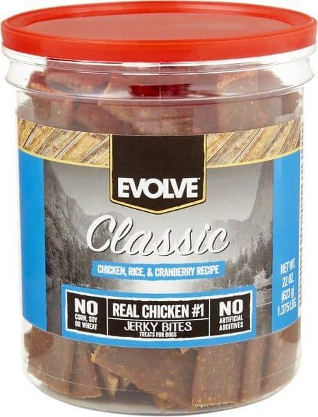Evolve Classic Chicken, Rice & Cranberry Recipe Dog Treats