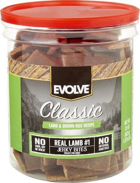 Evolve Classic Lamb & Brown Rice Recipe Dog Treats