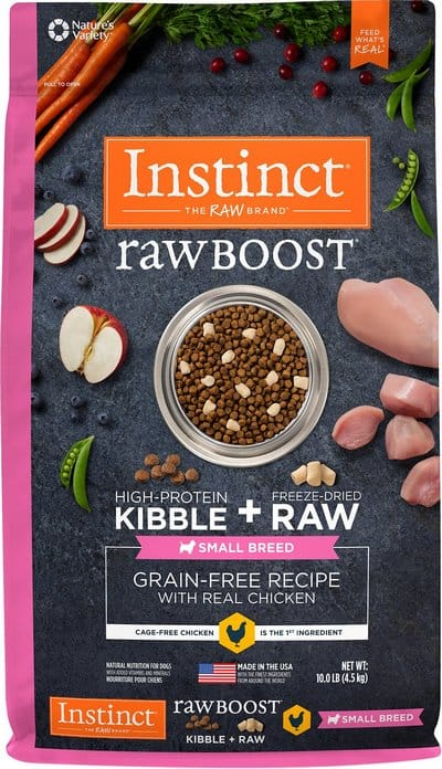Raw Boost Small Breed Grain-Free Recipe With Real Chicken Dry Dog Food