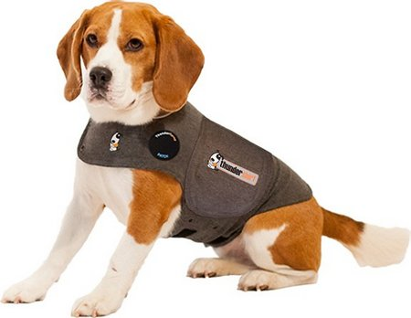 ThunderShirt Classic Dog Anxiety Jacket (Heather Grey)