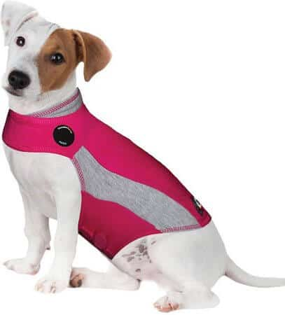 ThunderShirt Polo Dog Anxiety Jacket [Pink]