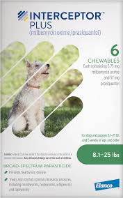 Interceptor Plus Chewable Tablets For Dogs