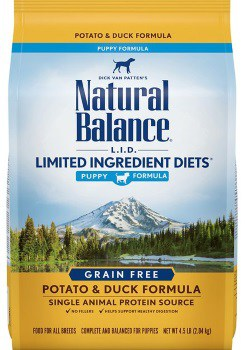 Natural Balance LID Puppy Formula Potato & Duck Dry Dog Food
