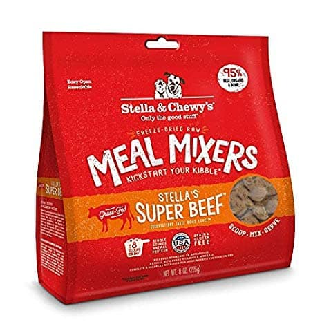 Stella & Chewy's Stella's Super Beef Meal Mixer Freeze-Dried Raw Dog Food Topper