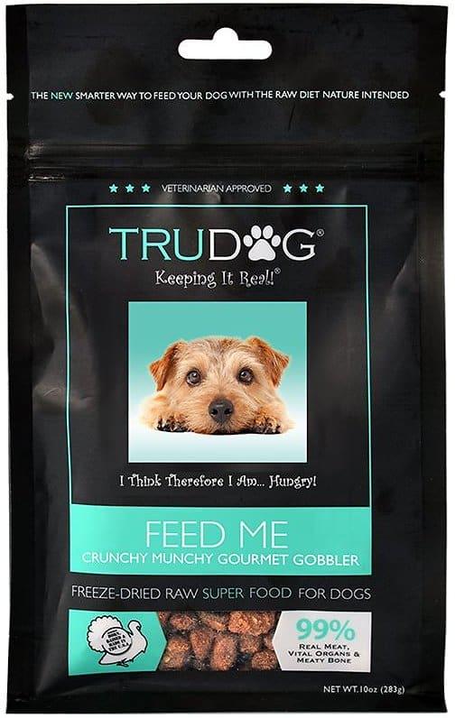 TruDog Feed Me Turkey Grain-Free Freeze-Dried Raw Dog Food