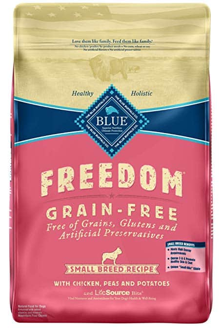 Blue Buffalo Freedom Small Breed Adult Chicken Grain-Free Dry Dog Food