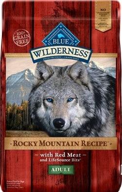 Blue Buffalo Wilderness Rocky Mountain Recipe Grain-Free Dog Food