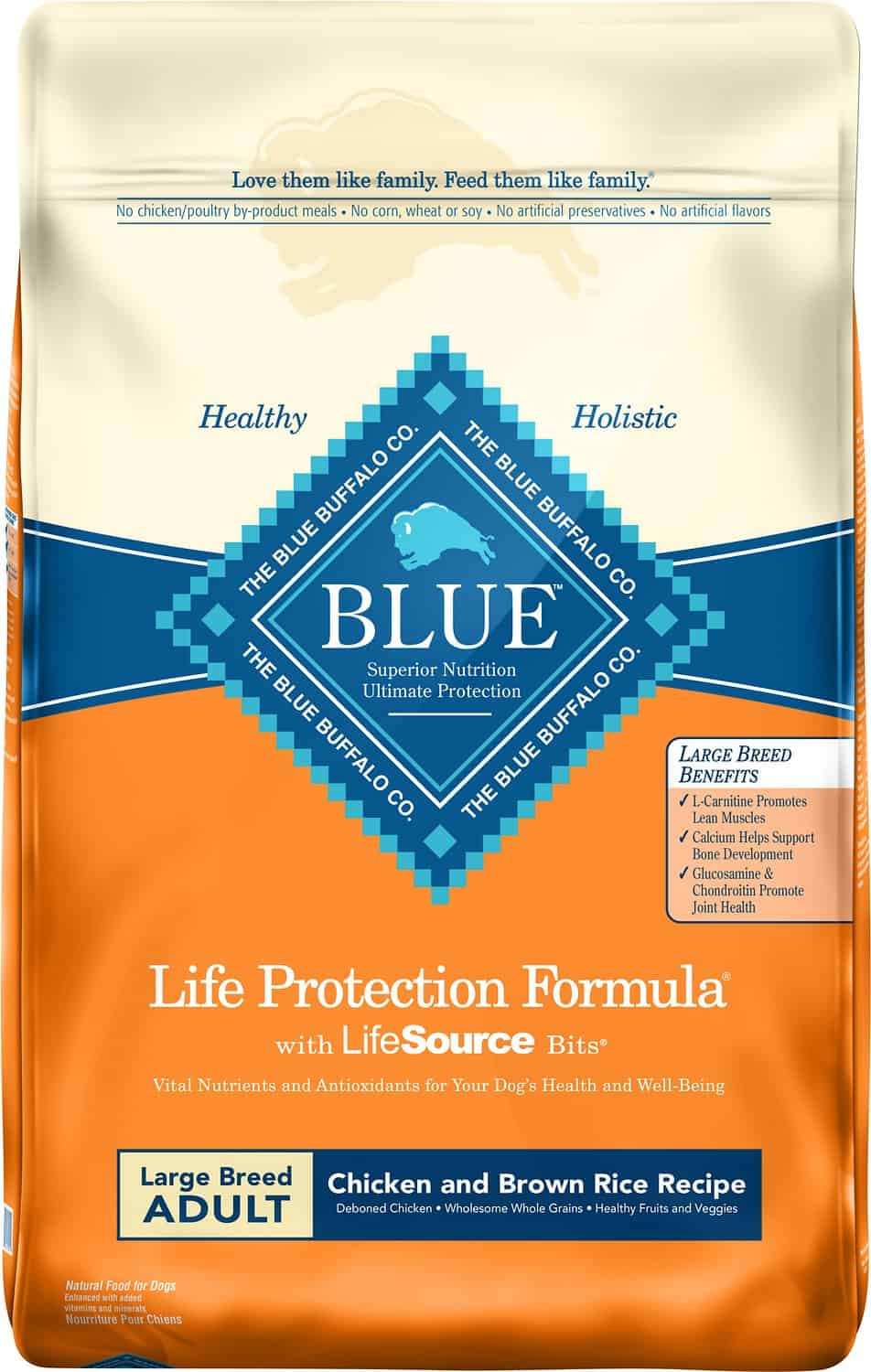 Blue Buffalo Life Protection Formula Large Breed Dry Dog Food