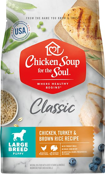 Chicken Soup for the Soul Large Breed Puppy Dry Dog Food