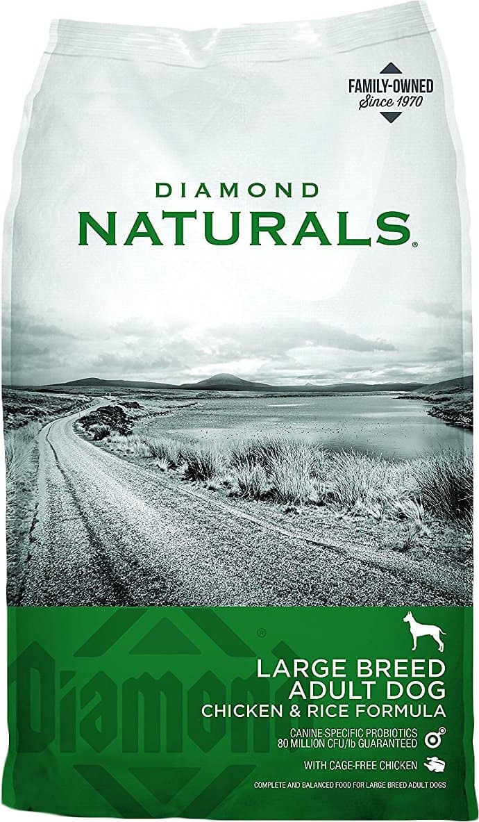 Diamond Naturals Large Breed Adult Chicken & Rice Dry Dog Food