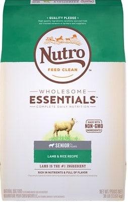 Nutro Wholesome Essentials Senior Dog Food