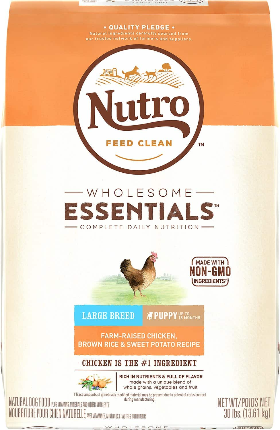 Nutro Whole Essentials Large Breed Puppy Dry Dog Food